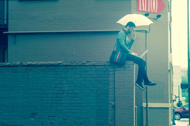 バッグと傘